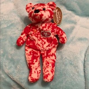 San Francisco Steve Young #8 plush bear